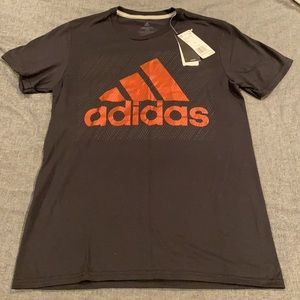 Adidas Black & Red T-Shirt